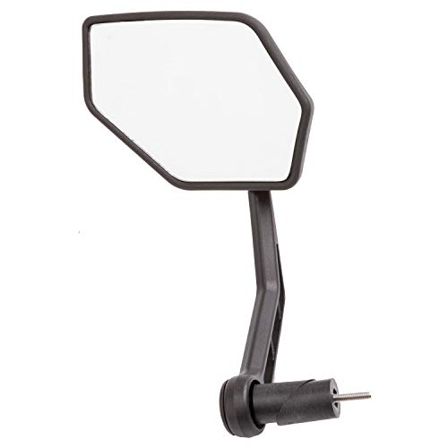 M-Wave Spy Space 45 Fietsspiegel voor volwassenen, uniseks, zwart