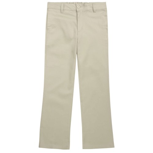 French Toast Big Girls' School Uniforms Stretch Twill Boot Leg Pant (14, ()