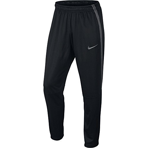 NIKE Men's Epic Knit Pants, Black/Dark Grey/Black/Dark Grey, Large (Track Pant Nike)