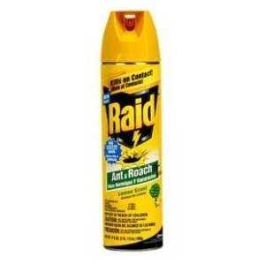 (Raid Ant &Roach Killer, Lemon Scent 17.5 oz. (Pack of 12))