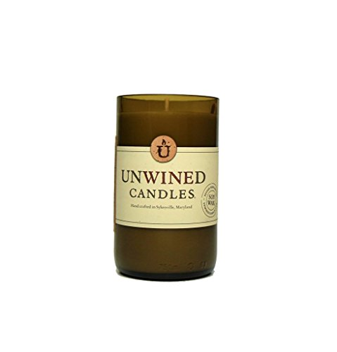 Unwined's Signature Series Vanilla Bean Candle, 12 oz Soy Wax