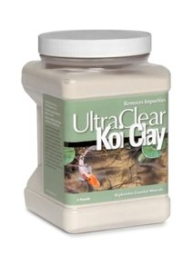 UltraClear Koi Clay - 4 lbs. with Exclusive BONUS Max Ponds Magnet Calendar -