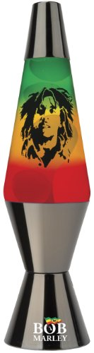 Lava Lite 2303-4001 Radiant Rasta Lamp, 14-1/2-Inch, Tinted