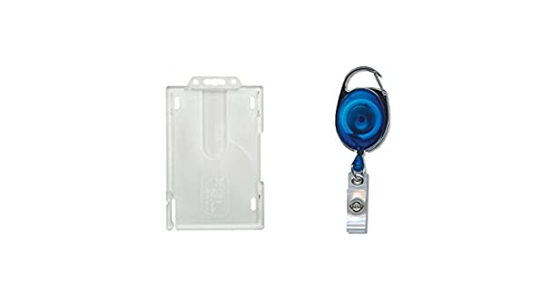 Amazon.com: ID Card It Formato Vertical Badge Buddy Enclosed ...