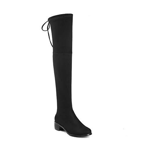 Noir Femme 5 Abl12060 Balamasa 36 Noir Sandales Compensées IaTwZqKt