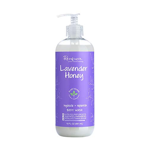 Renpure Lavender & Honey Body Wash, 19 Ounce