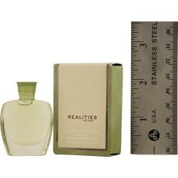 For Men New ( ) Cologne Realities (REALITIES (NEW) by Liz Claiborne for MEN: COLOGNE .18 OZ MINI (note* minis approximately 1-2 inches in height))
