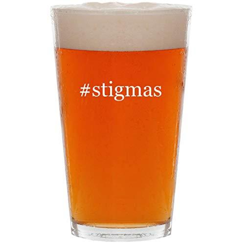 #stigmas - 16oz Hashtag All Purpose Pint Beer Glass