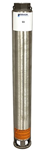 Goulds 65GS30 Submersible Pump End, 65 GPM, 10 Stages, 3 HP Required