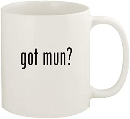 got mun? - 11oz Ceramic White Coffee Mug Cup, White