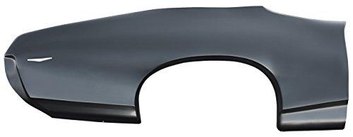 1969 Pontiac GTO 2-Door Right Quarter Panel - Panel Quarter Right Skin