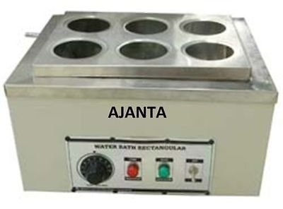 Ajanta Water Bath 350 X 250 X 100MM 6 Holes Water Baths And Chillers