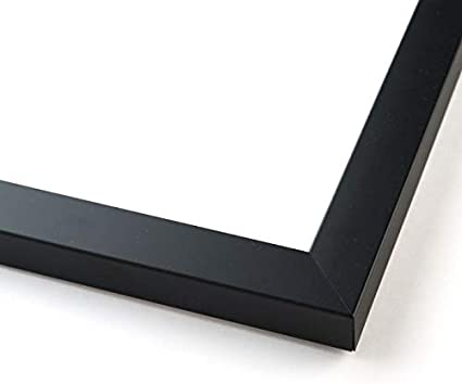 33x13 Black Wood Picture Frame With Acrylic Front and Foam Board Backing