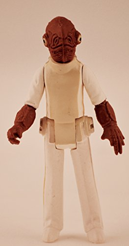 Vintage Admiral Ackbar (1982) ROTJ - Star Wars Universe Action Figure - Collectible Replacement Figure Loose (OOP Out of Package & Print)
