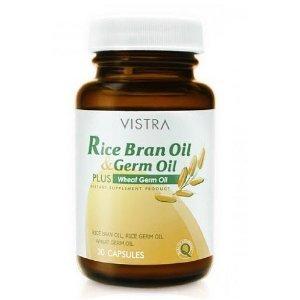 Amazon.com : Vistra Rice Bran Oil. 30 Capsules : Other