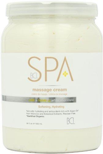 Creative Labs White Skin (Bio Creative Lab Spa Massage Cream, Milk Honey and White Chocolate, 64 Ounce by Bio Creative Lab)