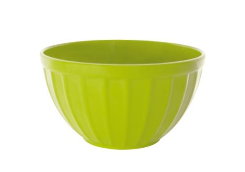 (Zak Designs Ice Cream Bowl and Spoon, Green/Raspberry )