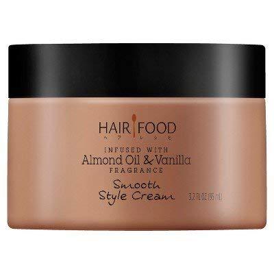 - Hair Food Almond Oil & Vanilla Smooth Style Cream - 3.2 fl oz