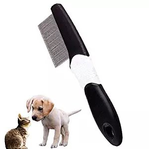 Peine de pulgas extra fino para peine de dientes y quitamanchas para perros, gatos, gatitos, pelo largo y corto: Amazon.es: Productos para mascotas