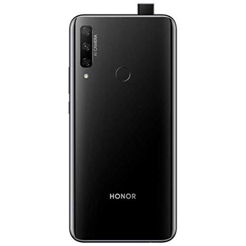 "Honor 9X (128GB, 6GB) 6.59"", 3 AI Cameras, 4000mAh Battery, Dual SIM GSM Unlocked US + Global 4G LTE International Model STK-LX3 (Black, 128GB + 64GB SD + Case Bundle)"