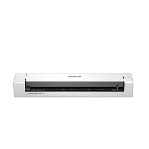 Brother DS-740 - Escáner móvil (A4, Doble Cara, alimentación USB, 30 ppm, Color, Negro y Blanco)