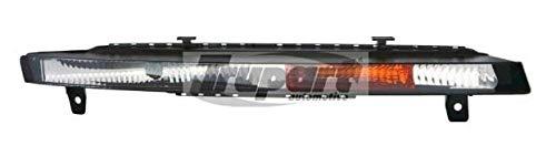 Left Passenger Side Front Indicator Lamp Indicator Light/Parking Light (In Bumper Clear Lens):