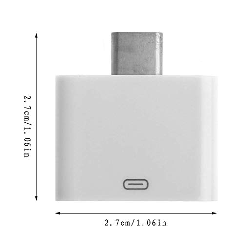 Doiber 30-Pin Female to USB 3.1 Type C Male Data Charger Converter Adapter Connector
