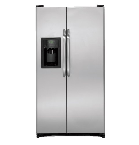 GE REFRIGERATORS 290045 Energy Star 21.9 cu. ft. Free-Standing Refrigerator, Stainless Steel by GE