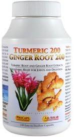 Andrew Lessman Turmeric 200 Ginger Root 200, 120 Capsules