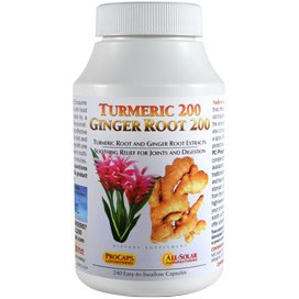 Turmeric 200 Ginger Root 200