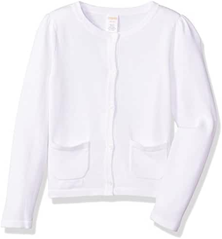 Gymboree Little Girls' Long Sleeve Uniform Cardigan Sweater