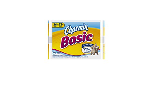 UPC 037000859901, Charmin Basic Toilet Paper, Double Roll, 36 Count