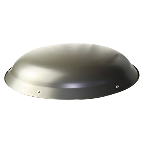 Ventamatic XXMETALDOMEWG Steel Dome for Roof Power Attic Ventilators