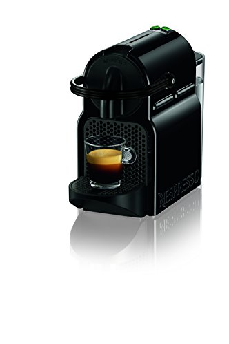 Nespresso Inissia Espresso Machine by De'Longhi, Black (Machines Extraction Water)