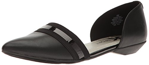Toe Pointed Onmyway Flat Synthetic Black Klein Women's Anne EWORqnxXII