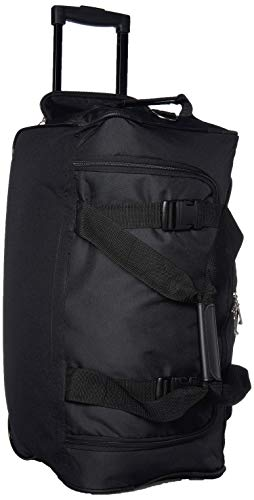Rockland Luggage Rolling 22 Inch Duffle Bag, Black, One Size