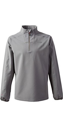 GILL Race Softshell Smock, Color: Grey, Size: M (RS05GM)