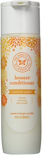 The Honest Company Detangling Hair Conditioner - Perfectly Gentle Sweet Orange Vanilla - 10 Fluid Ounces (Pack of - Conditioner Detangling
