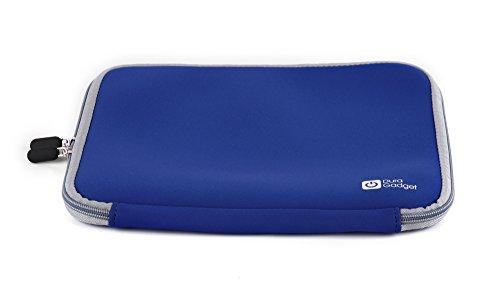 DuraGadget schwarze Laptop-Tasche für ALDI Medion Akoya (P6670 (MD 99960), E6412T (MD 99450), E6422 (MD 99680), P6659 (MD 99503), E6239 (MD 98844), P6631, P6640, P6637, P6815), The Touch 300 (MD98453) Blau