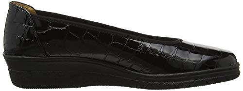 Basic 97 Stringate Nero Schwarz Scarpe Derby Comfort Donna Gabor 5q68gg
