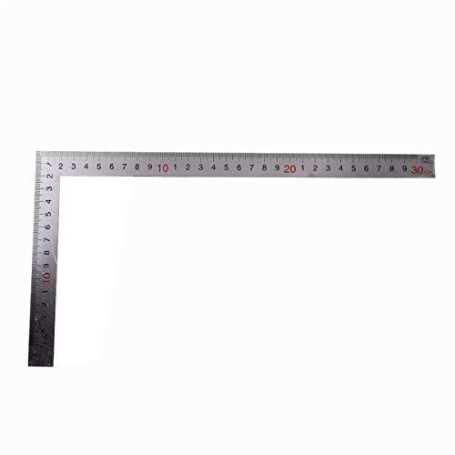 (Metal L Shape Square Ruler, 90 Degree Framing Square Ruler, Easy to Read 2
