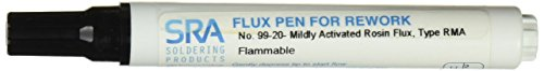 SRA #99-20 Rosin RMA Soldering Flux Pen - Refillable