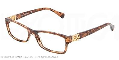 dolce gabbana dg3147p eyeglasses 2550 brown marble 51mm - Dolce And Gabbana Glasses Frames