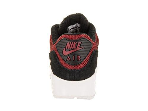 Nike Herren Air Max 90 Essential Laufschuh Schwarz / Tough Red / Tough Red