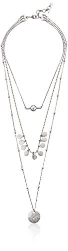 Lucky Brand Lucky Layered Faux-Pearl Necklace