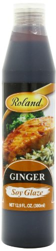 Roland Soy Glaze, Ginger, 12.9 Ounce