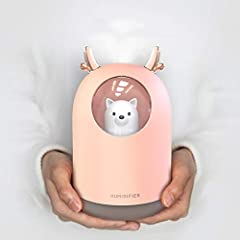 HOPEME Cool Mist Humidifier is ideal for someone who...  ⭐Who is tired of the same old boring humidifier designs and wants something more stylish. ⭐ Looking for an affordable small sized room humidifier.  ⭐Needs a humidifier that easily carry...