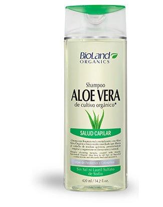 Organic Aloe Vera Shampoo 14.2 fl.oz. | Shampoo Organico de Sabila 420 ml
