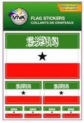 Somaliland Flag Stickers Flag Decals Vinyl Round Set of 4 Somaliland Flags