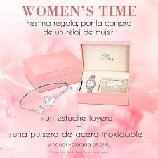 Amazon.com: Festina Mademoiselle F20337/1 Wristwatch for women With Swarovski crystals: Watches